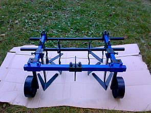 Культиватор междурядной и сплошной обработки для мотоблока ТМ ШИП (0,8 м, опорные колеса)