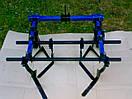 Культиватор междурядной и сплошной обработки для мотоблока ТМ ШИП (0,8 м, опорные колеса), фото 3