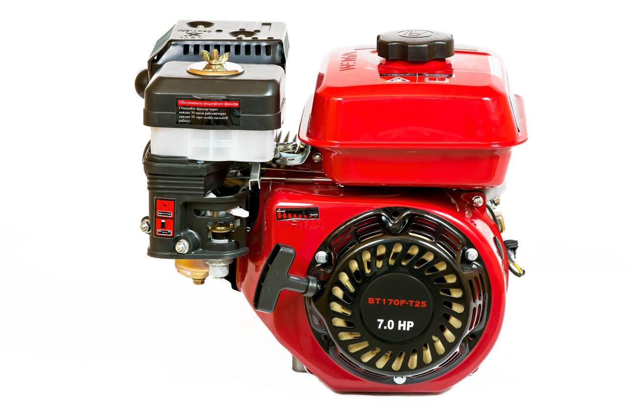 Двигун бензиновий WEIMA BT170F-Т/25 (7,0 л. с., шліц)