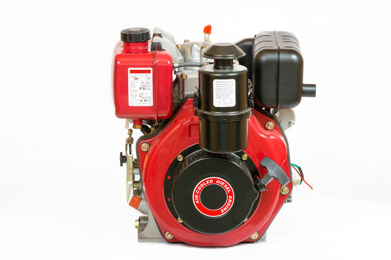 Двигатель дизельный с редуктором Weima WM178FES (6,0 л.с.,шпонка)
