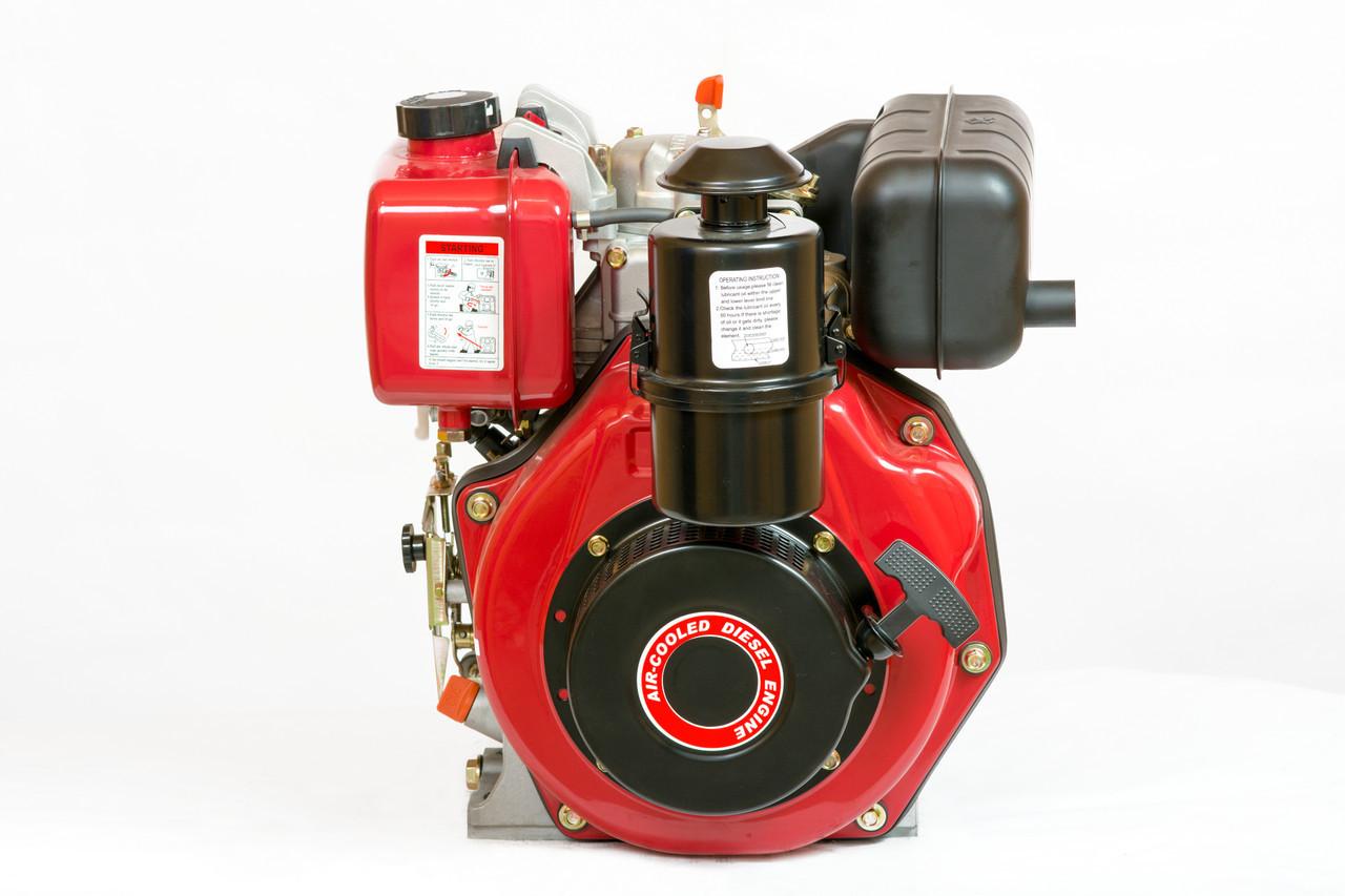 Двигатель дизельный с редуктором Weima WM178FS (6,0 л.с.,шпонка)