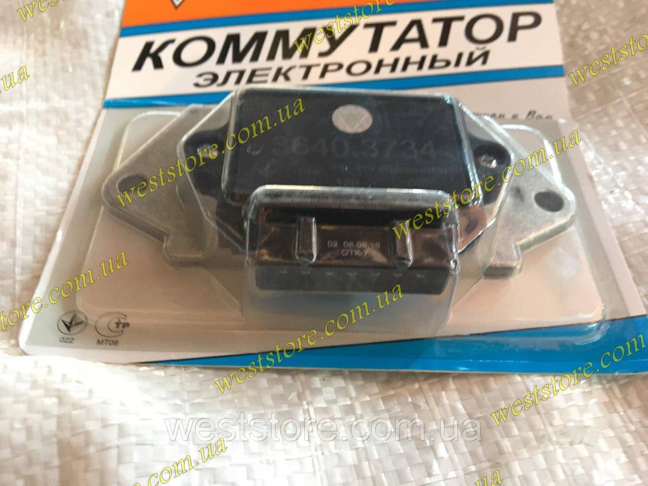 Коммутатор Ваз 2108 2109 21093 7-ножек с выходом  на тахометр ВТН 3640.3734