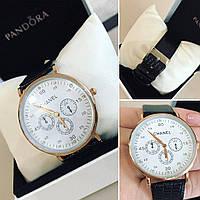 Женские красивые часы с кожаным ремешком (2 цвета)