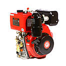 Двигатель дизельный WEIMA WM186FBS редуктор (9,5 л.с..вал под шпонку), фото 3