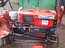 """Адаптер-мототрактор ТМ """"Ярило"""" (для мотоблоков водяного охлаждения, приводные ремни внизу, + колеса), фото 5"""