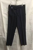 Школьные брюки детские на мальчика 6-12 лет,темно синие