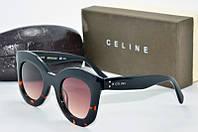 Солнцезащитные очки круглые Celine лео