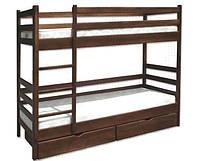 Двухъярусная кровать Засоня из натурального дерева