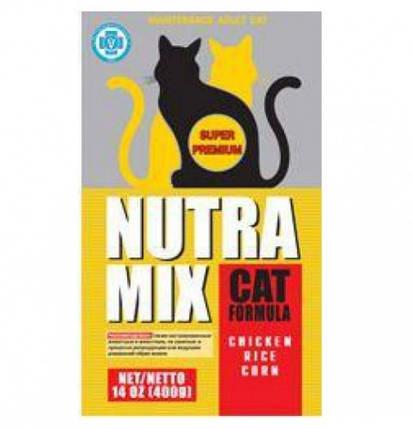 Nutra Mix Maintenance Adult Cat Нутра Микс для умеренно активных и кастрированных, 9,07кг, фото 2