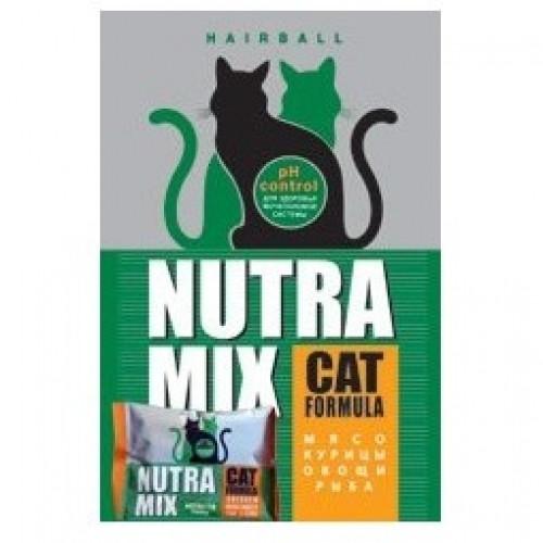 Nutra Mix Hairball Нутра Микс выведение шерсти, 9,07кг