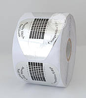 Формы для ногтей  100 шт (серебро) №11
