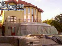 Алюминиевые конструкции: веранды балконы лоджии