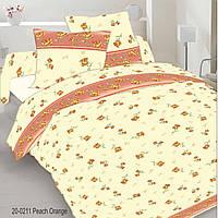 Комплект постельного белья двухспальный, бязь люкс, 100% хлопок