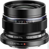 Объектив Olympus EW-M1220 ED 12mm f/2.0 Black (V311020BE001)