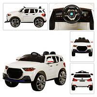 Детский электромобиль  Audi M 2763 EBLR-1: 2.4G, MP4-планшет, EVA, 70W, кожа -- Белый-купить оптом
