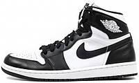 Женские баскетбольные кроссовки Air Jordan 1 Retro High OG Black White