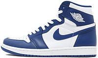 Мужские баскетбольные кроссовки Air Jordan 1 High OG Storm Blue