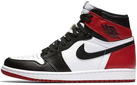 Мужские кроссовки Nike Air Jordan 1 High Black OG Toe 555088-184, Найк Аир Джордан 1, фото 2