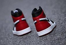 Мужские кроссовки Nike Air Jordan 1 High Black OG Toe 555088-184, Найк Аир Джордан 1, фото 3