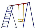 Гойдалки одномісні +сходи Ігровий комплекс, фото 2