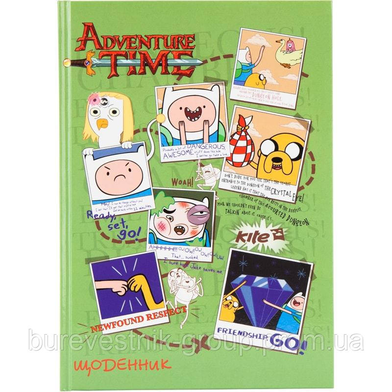 """Щоденник шкільний Kite """"Adventure Time"""" (AT17-262-2)"""