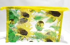 Косметичка прозрачная прямоугольная купить оптом, фото 3