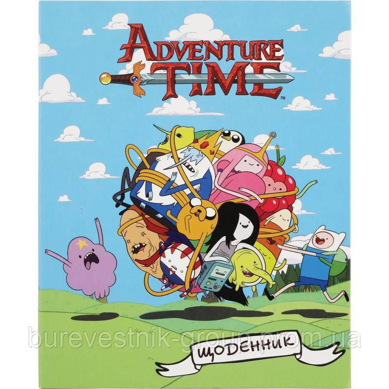 """Дневник школьный Kite """"Adventure Time"""" (AT15-261K)"""