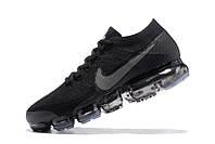 Мужские кроссовки Nike Air VaporMax (Triple Black), фото 1