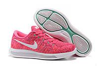 Кроссовки Nike Lunarepic Low Flyknit Pink, фото 1