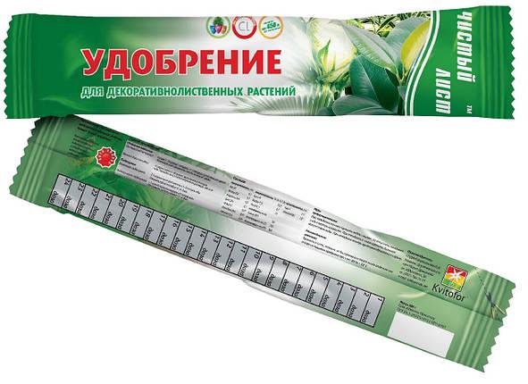 Кристалічне добриво «Чистий лист» для декоративно-листяних рослин 100 г, фото 2
