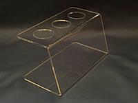 Подставка акриловая для вафельных рожков, фото 1