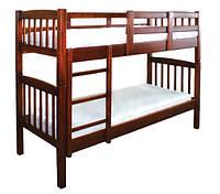 Двухъярусная кровать Бай-бай из натурального дерева
