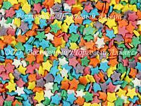 Посыпки кондитерские — Звезды разноцветные мини
