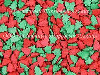 Посыпки кондитерские — Елки красные-зеленые