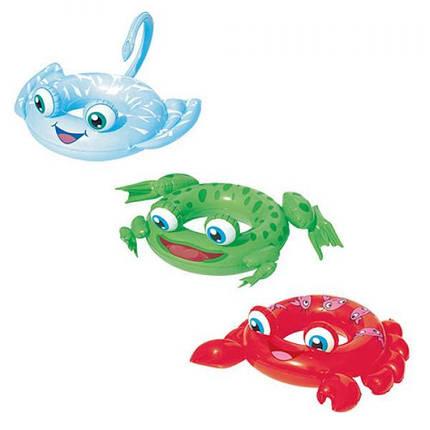 Надувной круг для купания BestWay 36059 для деток в форме животных, фото 2