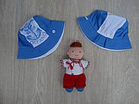 """Летняя панамка """"Oceano"""" для мальчика голубая р.48-54"""