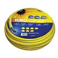 Шланг из ПВХ Euro Guip Yellow диаметром 1/2, 5/8, 3/4 дюйма, длина 20/25/50м, стойкость к ультрафиолету