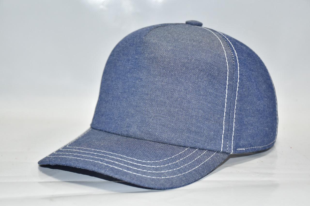 Летняя кепка для мальчика джинс