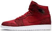 """Мужские баскетбольные кроссовки Air Jordan 1 High GS """"Red Elephant"""""""