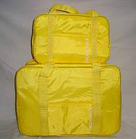 Термосумка (сумка-холодильник) Кемпинг Giostyle Fiesta Set 24 л + 7 л желтая iзотермiчна сумка