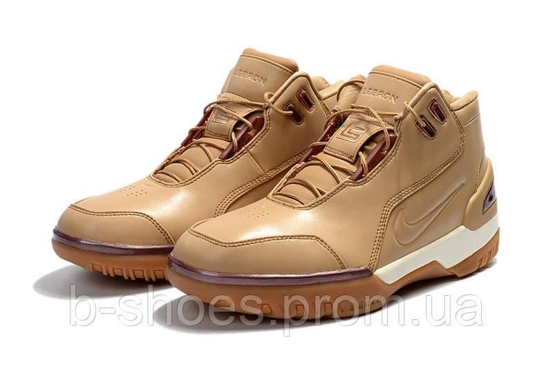 Мужские баскетбольные кроссовки Nike LeBron Zoom Generation (Nike LeBron  Zoom Generation (Wheat)