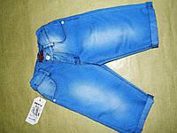 Голубые шорты джинсовые для мальчика 7-10 лет