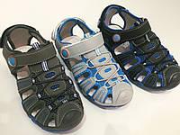 Детские сандалии закрытые для мальчиков Baobao оптом Размеры 31-36