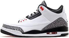 Мужские кроссовки Nike Air Jordan 3 Infrared 23 136064-123, Найк Аир Джордан 3