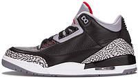 Мужские баскетбольные кроссовки Air Jordan 3 Retro Black Cement