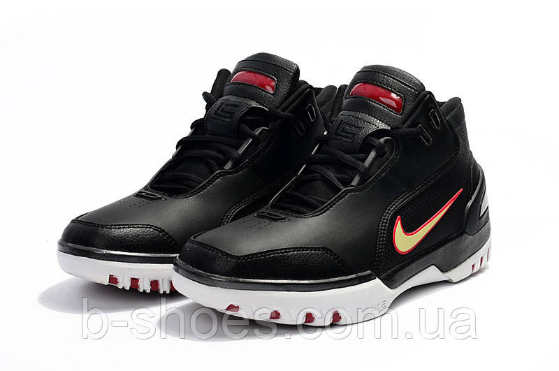 Мужские баскетбольные кроссовки Nike LeBron Zoom Generation (Nike LeBron  Zoom Generation (Black/Red-White)