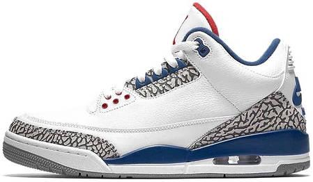 "Мужские кроссовки Nike Air Jordan 3 Retro ""2009 Release"" 136064 141, Найк Аир Джордан 3, фото 2"