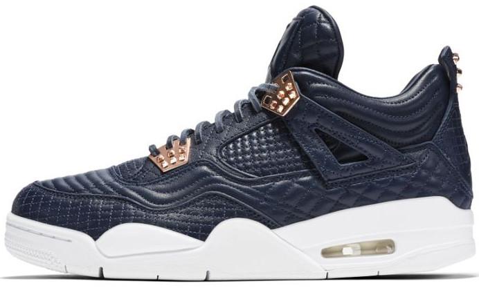 Мужские кроссовки Nike Air Jordan 4 Retro Premium 'Pinnacle' Obsidian 819139-402, Найк Аир Джордан 4
