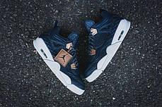 Мужские кроссовки Nike Air Jordan 4 Retro Premium 'Pinnacle' Obsidian 819139-402, Найк Аир Джордан 4, фото 3