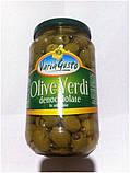 Оливки зеленые Varia Gusto Olive Verdi без косточки в рассоле, 545 гр., фото 2